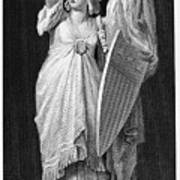 Allegory: Columbia, 1870 Poster