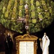 Allegory Of Camaldolese Order 1600 Poster