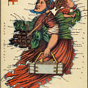Allegory Of Ireland Poster