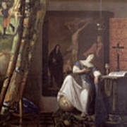 Allegory Of The Faith Poster by Jan Vermeer