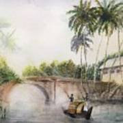 Alleppey Kerala 1899 Ad Poster