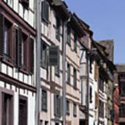 Alley In La Petite France Poster