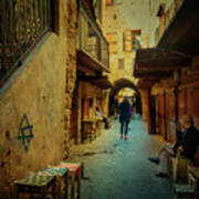 Alley Of Old Sidon Poster