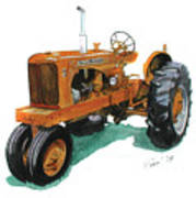 Allis Chalmers Tractor Poster