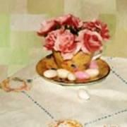 Almond Blossom Tea Poster