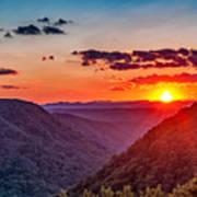 Almost Heaven - West Virginia Poster