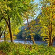 Along The Shenandoah River Poster