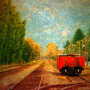Along The Tracks Poster