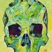 Alpha Skull Poster