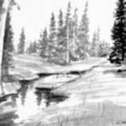 Alpine Meadow Poster