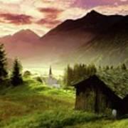 Alpine Village Poster