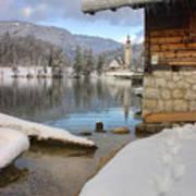 Alpine Winter Clarity Poster