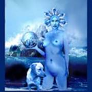Alta, Roman Goddess Of Water Poster
