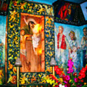 Altar Painted By Famous John Walach Poster