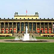 Altes Museum In Berlin Poster