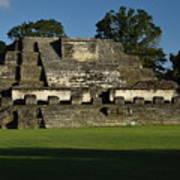 Altun Ha Mayan Temple Poster