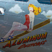 Aluminum Overcast Poster