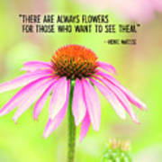 Always Flowers Poster