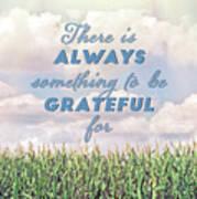 Always Grateful Poster
