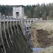 Alwen Reservoir Dam Poster