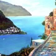 Amalfi gem Poster