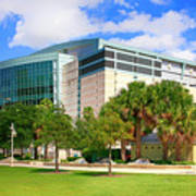 Amalie Arena Tampa Fl Poster