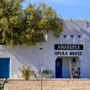 Amargosa Opera House Poster