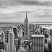 Amazing Manhattan Bw Poster