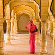 Amber Fort Temple Poster