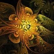Amber Light Poster