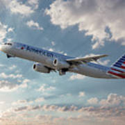 American Airlines A321-231 N917uy Poster