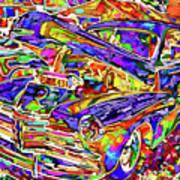 American Classic Car 4 Poster
