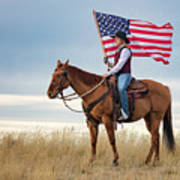 American Cowgirl Poster