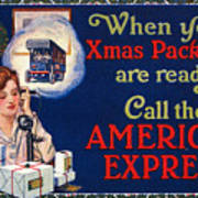 American Express Shipping Poster