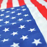 American Flag 2 Poster