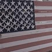 American Flag Shop Poster