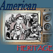 American Heritage Poster