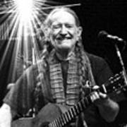 American Icon - Willie Nelson Poster