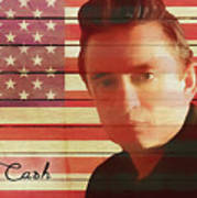 American Icon Johnny Cash Poster