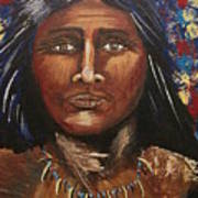 American Indian Portrait Poster