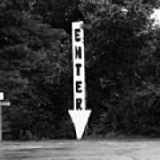 American Interstate - Missouri I-70 Bw Poster