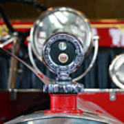 American Lafrance Vintage Fire Truck Gas Cap Poster