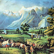 American Manifest Destiny, 19th Century Poster