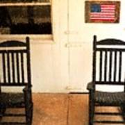 American Porch Poster