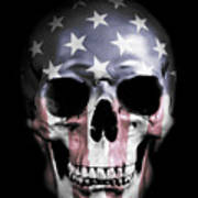 American Skull Poster