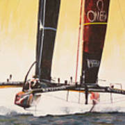 America's Cup 2013 Series V Poster