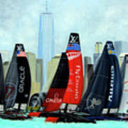 America's Cup New York City Poster
