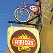 Amicas Pizza Poster