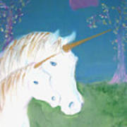 Amid The Unicorns Poster