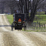 Amish Buggy March 2016 Poster